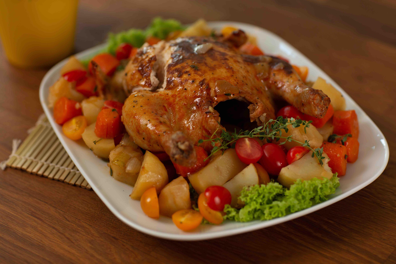 resipi ayam panggang ala kenny rogers  oven icookasia asian recipe food channel Resepi Nasi Ayam Tanpa Madu Enak dan Mudah